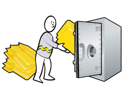 bob protects his business data with online backup from iconoclast.it